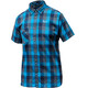 Salewa Puez Ecoya Dry S/S Shirt Men M Navy/Blue/Smoky Grey